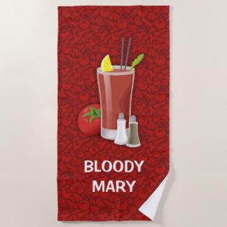 Bloody Mary Beach Towel