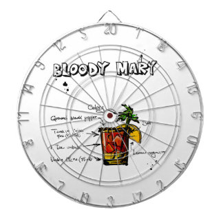 Bloody Mary Cocktail Recipe Dartboard With Darts