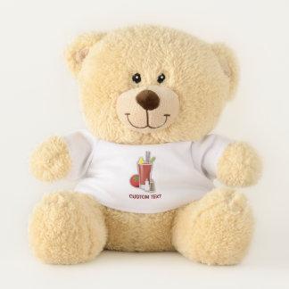 Bloody Mary Cocktail Teddy Bear