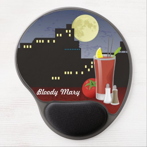 Bloody Mary Gel Mousepads