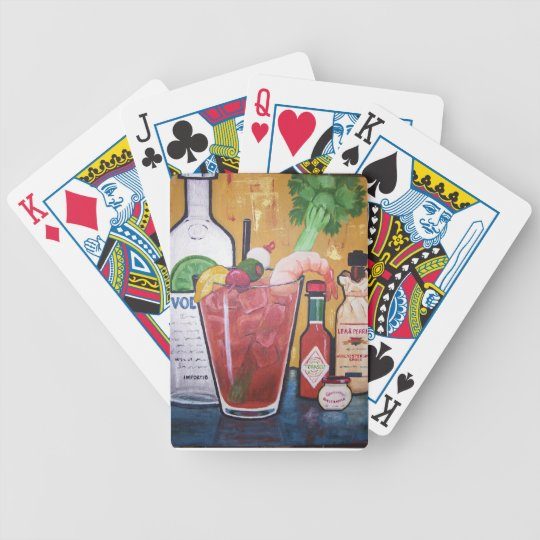 Bloody Mary Playing Cards