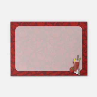 Bloody Mary Post-it Notes