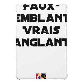 BLOODY PRETENCES, TRUTHS - Word games iPad Mini Case