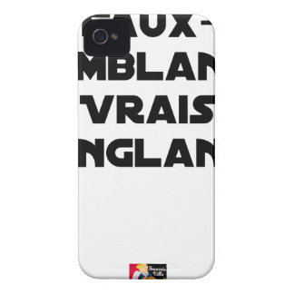 BLOODY PRETENCES, TRUTHS - Word games iPhone 4 Covers