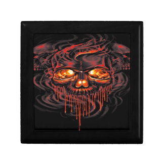 Bloody Red Skeletons Gift Box