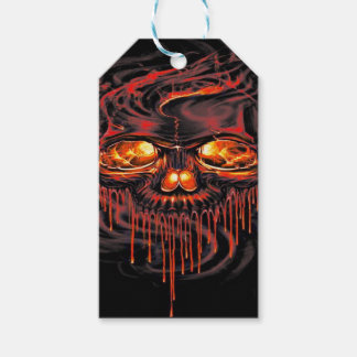 Bloody Red Skeletons Gift Tags