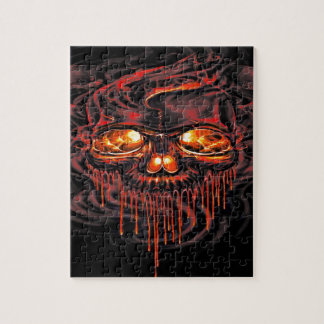 Bloody Red Skeletons Jigsaw Puzzle