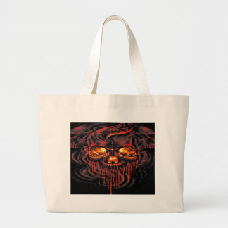 Bloody Red Skeletons Large Tote Bag