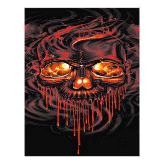 Bloody Red Skeletons Letterhead