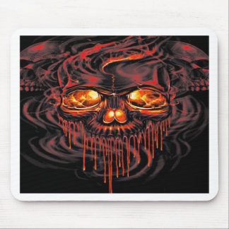 Bloody Red Skeletons Mouse Pad