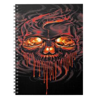 Bloody Red Skeletons Notebook