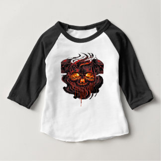 Bloody Red Skeletons PNG Baby T-Shirt