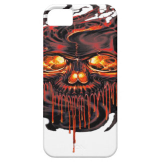 Bloody Red Skeletons PNG iPhone 5 Cover