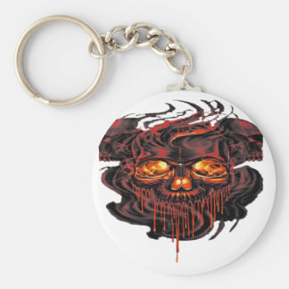 Bloody Red Skeletons PNG Keychain