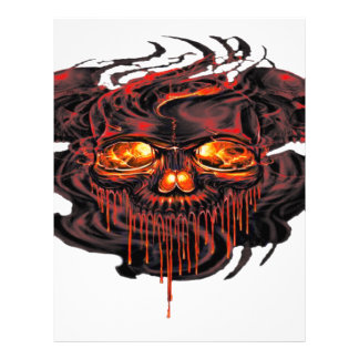 Bloody Red Skeletons PNG Letterhead