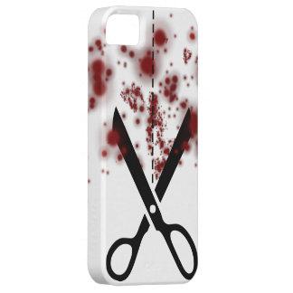 Bloody  Scissors iPhone 5 Case