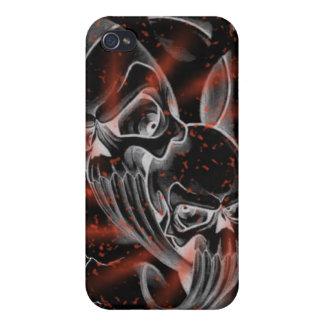 Bloody splatter skullz case