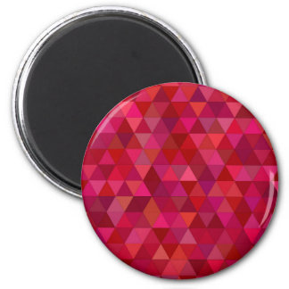 Bloody triangles 2 inch round magnet