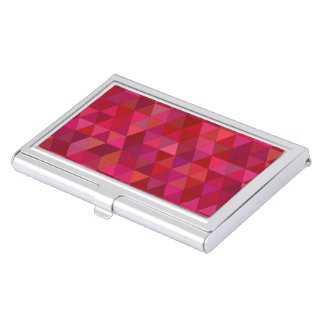 Bloody triangles business card holder