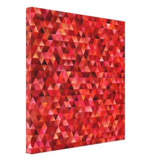 Bloody triangles canvas print