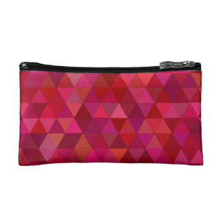Bloody triangles cosmetic bag