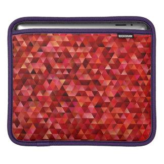 Bloody triangles iPad sleeve