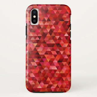 Bloody triangles iPhone x case