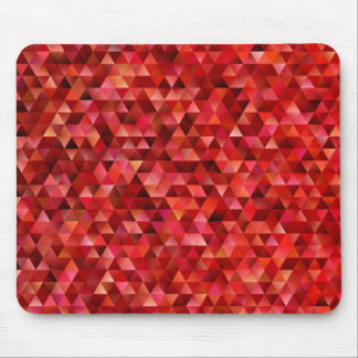 Bloody triangles mouse pad