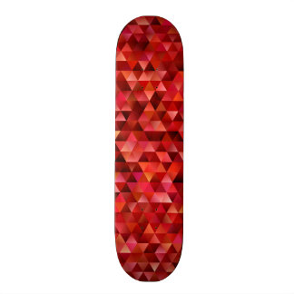 Bloody triangles skate deck