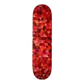 Bloody triangles skateboard deck