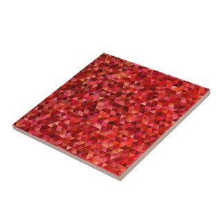 Bloody triangles tile
