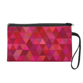 Bloody triangles wristlet purses