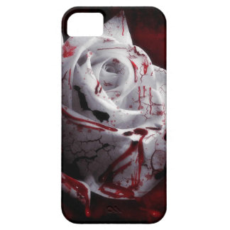 Bloody White Rose Case For The iPhone 5