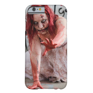 Bloody Zombie Apocalypse Girl Cell Phone Case
