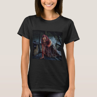 Bloody Zombie Girl Shirt