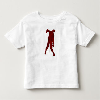 Bloody Zombie Silhouette Toddler T-shirt