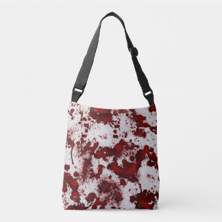BloodyWhiteFabric60 Crossbody Bag