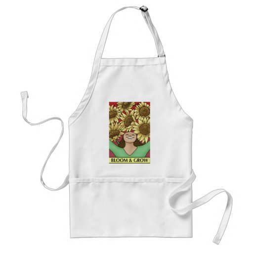 Bloom and Grow Aprons