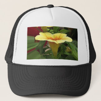 Bloom cups trucker hat
