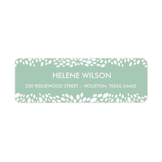 Bloom Customizable Return Address Labels