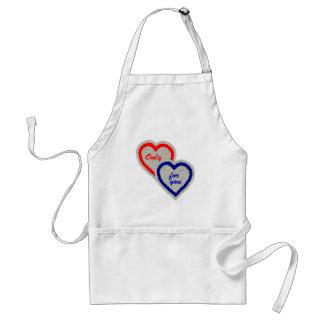 Bloom heart standard apron