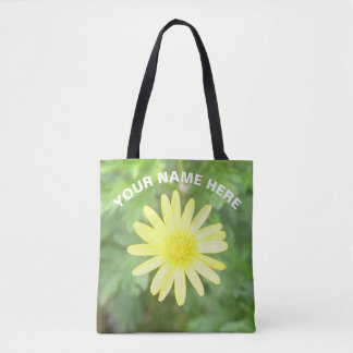 Bloom in Perfect Time Sun Flower Tote Bag