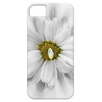 bloom in shades of white iPhone 5 cover