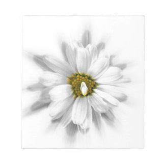 bloom in shades of white notepads