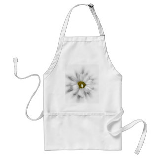 bloom in shades of white standard apron