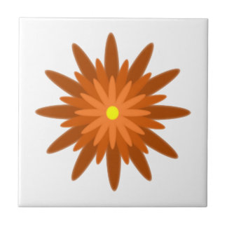 Bloom Orange Tile
