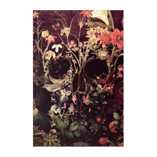 Bloom Skull Acrylic Print