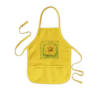 Bloom Where You Are Planted Kids Apron