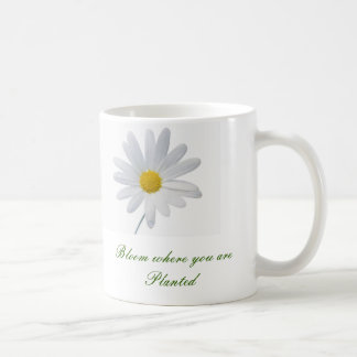 Bloom where you are planted mug image