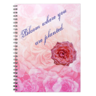 Bloom Where You Are Planted Notebooks